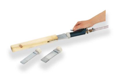 Tryska pro čepový spoj oboustranná, 30x100x6 mm