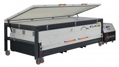 Nahřívací pec s membránovým lisem ADAMIK Combiformer Eco XL