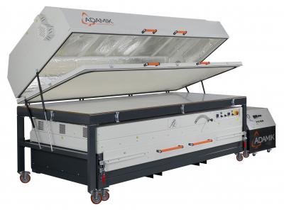 Nahřívací pec s membránovým lisem ADAMIK Combiformer Plus XL
