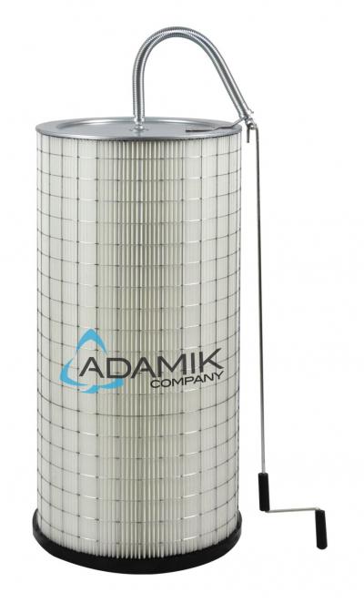 Filtr FPEC-510-10 polyesterový s mechanickým čištěním k odsávání ADAMIK FT 200 - FT 616