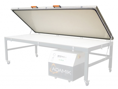 Rám s transparentní silikonovou membránou ADAMIK FS 30
