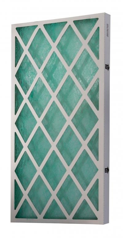 Filtr pro stříkací stěnu, skelné vlákno