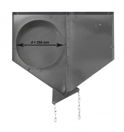 Uzávěr výškový UV250, s řetízkem